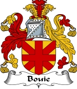 Bouie Family Crest / Bouie Coat of Arms JPG Download
