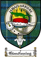 Glendinning Clan Badge / Tartan FREE preview