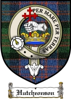 Hutcheonson Clan Badge / Tartan FREE preview