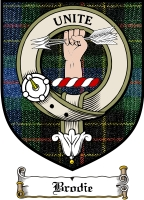 Brodie Clan Macdonald Clan Badge / Tartan FREE preview