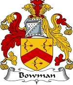 Bowman Family Crest / Bowman Coat of Arms JPG Download
