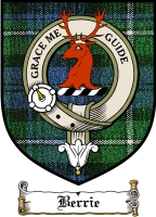 Berrie Clan Badge / Tartan FREE preview