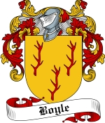 Boyle Family Crest / Boyle Coat of Arms JPG Download