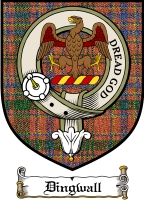 Dingwall Clan Ross Clan Badge / Tartan FREE preview