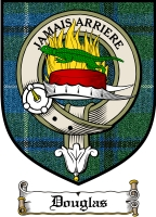 Douglas Clan Lamont Clan Badge / Tartan FREE preview
