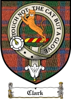 Clark Clan Mackintosh Clan Badge / Tartan FREE preview