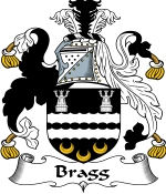 Bragg Family Crest / Bragg Coat of Arms JPG Download