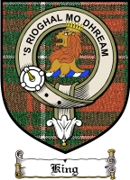 King Clan Badge / Tartan FREE preview