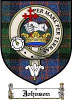 Johnson Clan Badge / Tartan FREE preview