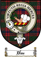 Dise Clan Badge / Tartan FREE preview