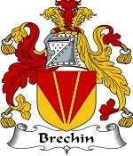Brechin Family Crest / Brechin Coat of Arms JPG Download