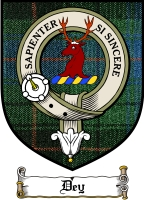 Dey Clan Badge / Tartan FREE preview
