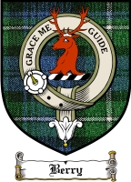 Berry Clan Badge / Tartan FREE preview