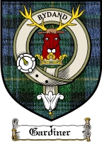 Gardiner Clan Badge / Tartan FREE preview