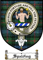 Spalding Clan Badge / Tartan FREE preview