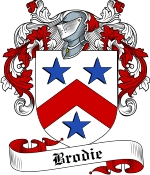 Brodie Family Crest / Brodie Coat of Arms JPG Download