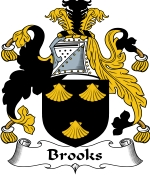 Brooks Family Crest / Brooks Coat of Arms JPG Download