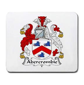Abercrombie Coat of Arms Mouse Pad