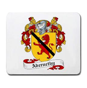 Abernethy Coat of Arms Mouse Pad