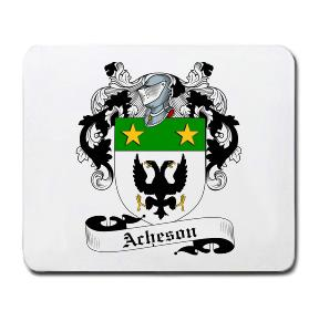 Acheson Coat of Arms Mouse Pad