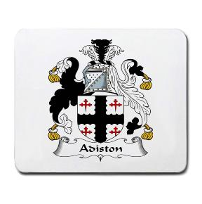 Adiston Coat of Arms Mouse Pad