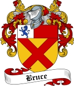 Bruce Family Crest / Bruce Coat of Arms JPG Download