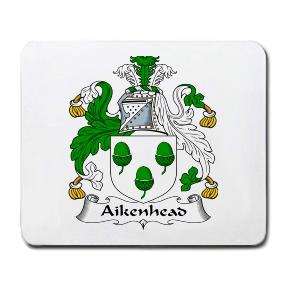 Aikenhead Coat of Arms Mouse Pad