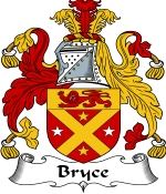 Bryce Family Crest / Bryce Coat of Arms JPG Download