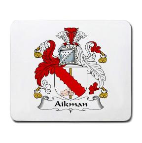 Aikman Coat of Arms Mouse Pad