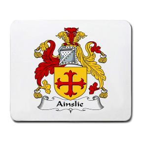 Ainslie Coat of Arms Mouse Pad