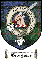Georgeson Clan Badge / Tartan FREE preview