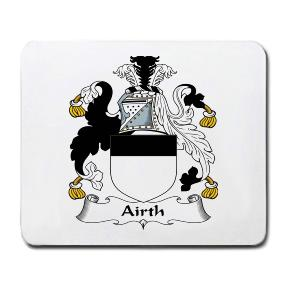 Airth Coat of Arms Mouse Pad