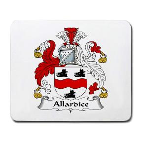 Allardice Coat of Arms Mouse Pad