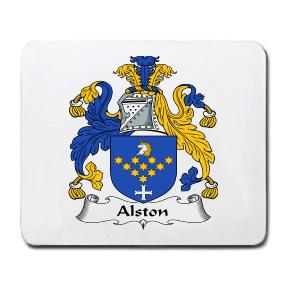 Alston Coat of Arms Mouse Pad