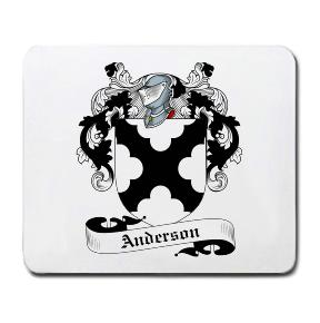 Anderson Coat of Arms Mouse Pad