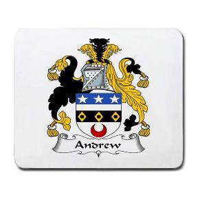 Andrew Coat of Arms Mouse Pad