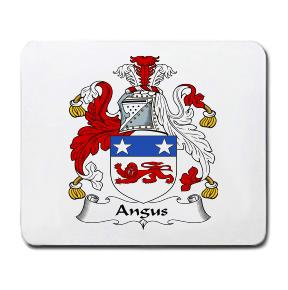Angus Coat of Arms Mouse Pad