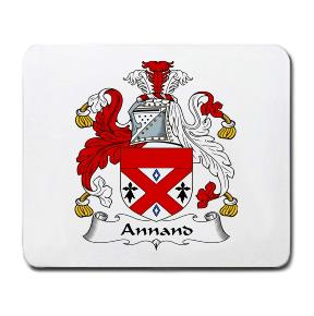 Annand Coat of Arms Mouse Pad