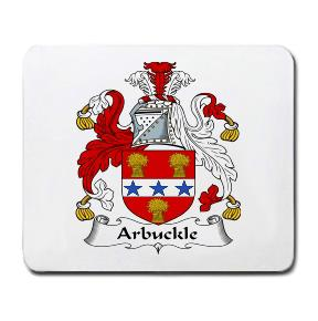 Arbuckle Coat of Arms Mouse Pad