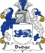 Budge Family Crest / Budge Coat of Arms JPG Download