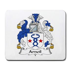 Arneil Coat of Arms Mouse Pad