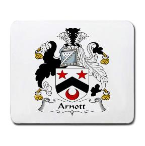 Arnott Coat of Arms Mouse Pad