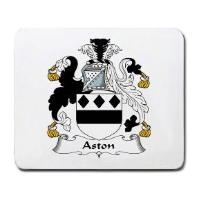 Aston Coat of Arms Mouse Pad