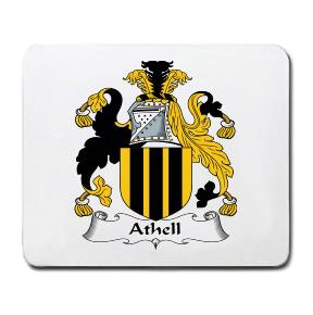 Athell Coat of Arms Mouse Pad