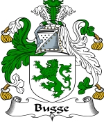 Bugge Family Crest / Bugge Coat of Arms JPG Download