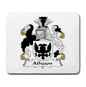 Atheson Coat of Arms Mouse Pad