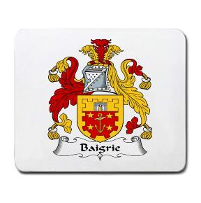 Baigrie Coat of Arms Mouse Pad