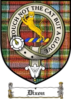 Dixon Clan Badge / Tartan FREE preview