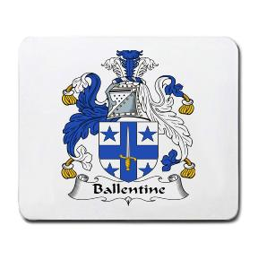 Ballentine Coat of Arms Mouse Pad