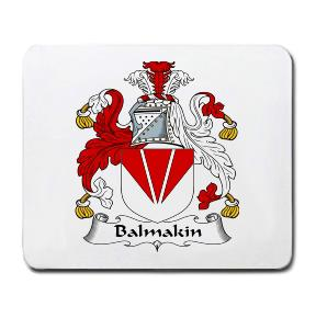 Balmakin Coat of Arms Mouse Pad